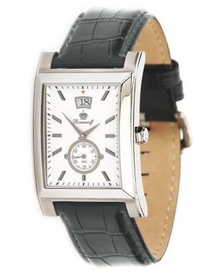 Часы наручные Romanoff. Цвет: серый, белый, серебристый