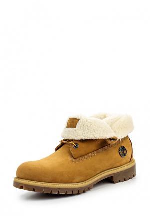 Ботинки Timberland. Цвет: желтый