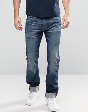 Edwin Прямые джинсы ED-80. Цвет: синий