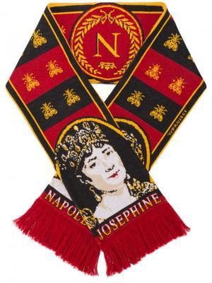 Шарф с изображением Наполеона Y / Project. Цвет: красный