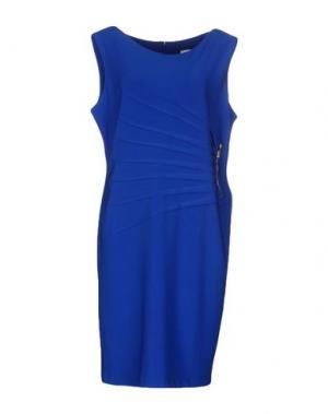 Платье до колена JOSEPH RIBKOFF. Цвет: ярко-синий