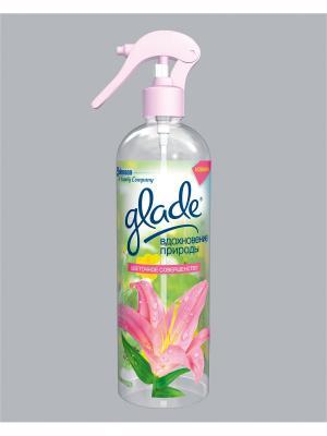 Glade Освежитель воздуха Вдохновение природы Цветочное совершенство 405мл. Цвет: розовый