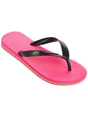 Шлепанцы Ipanema. Цвет: розовый, черный