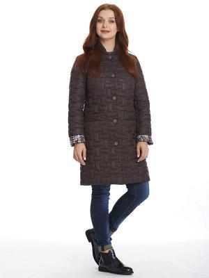Пальто Альбера Notte Bianca. Цвет: темно-коричневый
