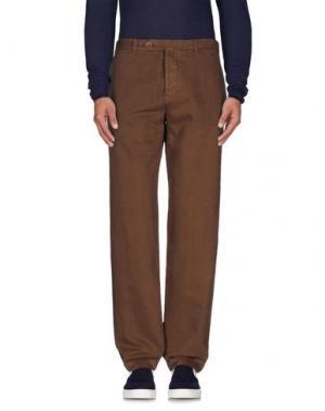 Джинсовые брюки ALAIN. Цвет: какао