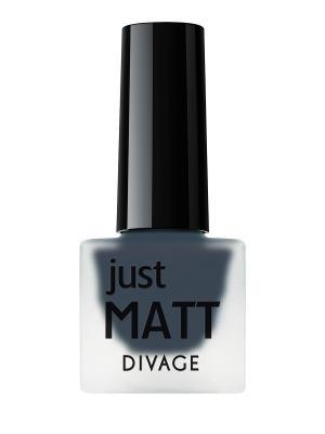 Лак для ногтей JUST MATT тон 5601 DIVAGE. Цвет: синий
