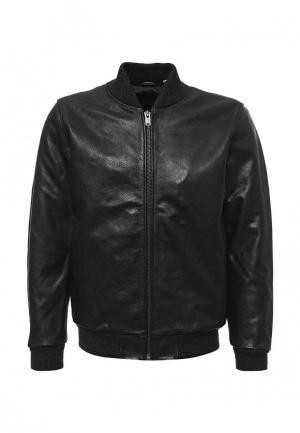 Куртка кожаная Levis® Levi's®. Цвет: черный