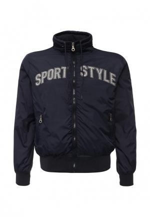 Куртка утепленная DRYWASH. Цвет: синий