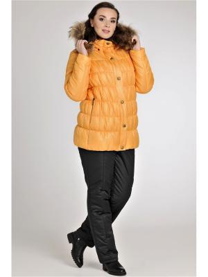 Куртка Modress. Цвет: светло-желтый, горчичный, желтый, золотистый
