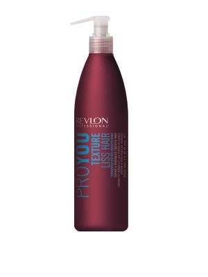 Средство для выпрямления волос Pro You Texture Liss Hair 350мл Revlon Professional. Цвет: темно-бордовый