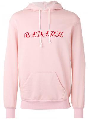 Худи с вышивкой Rodarte. Цвет: розовый и фиолетовый