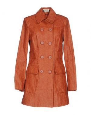 Легкое пальто KORALLINE. Цвет: ржаво-коричневый