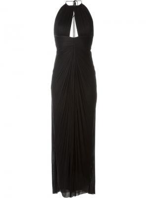 Платье Amer Maria Lucia Hohan. Цвет: чёрный