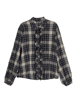 Блузка Motivi. Цвет: серый