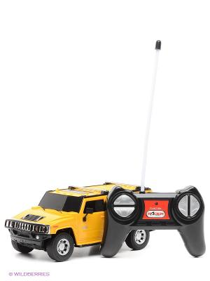 Машина Hummer H2 SUV 1:24 KAISER. Цвет: черный, желтый