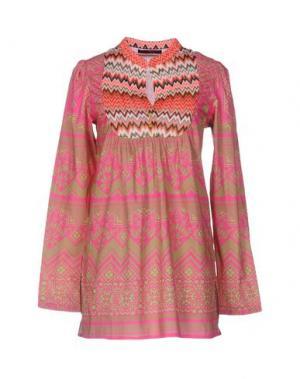 Блузка CUSTO BARCELONA. Цвет: фуксия