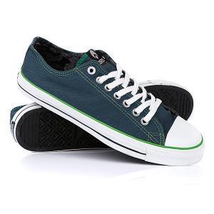 Кеды кроссовки низкие  1904 Ind/Green/White Osiris. Цвет: зеленый