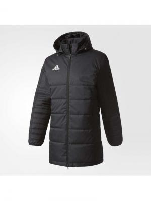 Куртка TIRO17 WINTJKTL  BLACK/WHITE Adidas. Цвет: черный