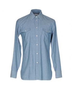 Джинсовая рубашка MARC JACOBS. Цвет: синий