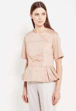Блуза MilkyMama. Цвет: бежевый