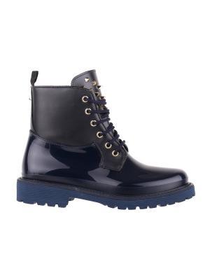 Ботинки MENGHI SHOES. Цвет: темно-синий