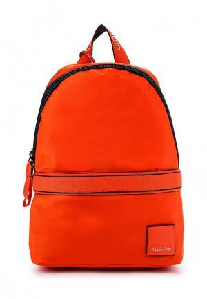 Рюкзак Calvin Klein Jeans. Цвет: оранжевый