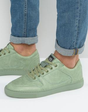 Sixth June Зеленые кроссовки. Цвет: зеленый