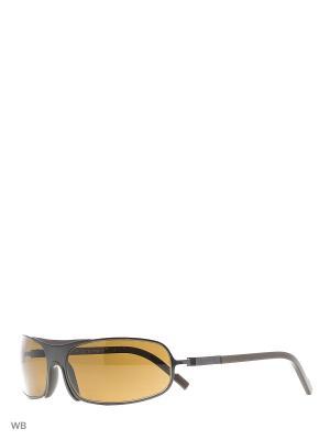 Солнцезащитные очки DU 508 04 Dunhill. Цвет: коричневый