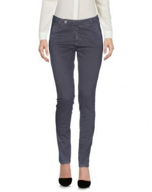 Повседневные брюки J-CUBE. Цвет: свинцово-серый