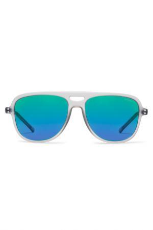 Солнцезащитные очки Komono. Цвет: silver