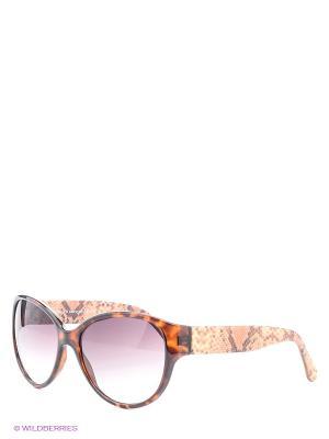 Солнцезащитные очки Franco Sordelli. Цвет: темно-бежевый, коричневый