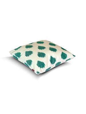 Чехол на подушку декоративныйIkat Square 45*45см RAWEDGE. Цвет: зеленый