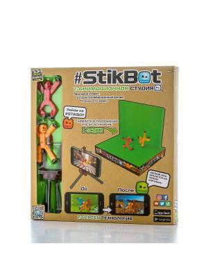 Игрушка Stikbot Анимационная студия со сценой Stik Bot. Цвет: коричневый