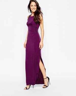 Binky Платье макси For Lipstick Boutique Stockwell. Цвет: фиолетовый