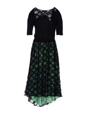 Длинное платье KRISTINA TI. Цвет: черный