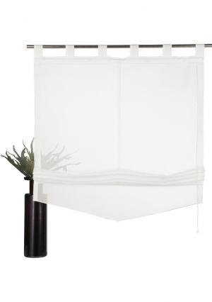 Римская штора Yalinga MY HOME. Цвет: цвет белой шерсти