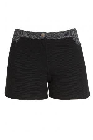 Трикотажные шорты из хлопка 161065 Un-namable. Цвет: черный