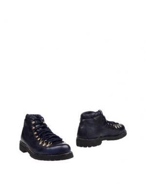 Полусапоги и высокие ботинки LE CORTINA by ANDREA VENTURA. Цвет: темно-синий