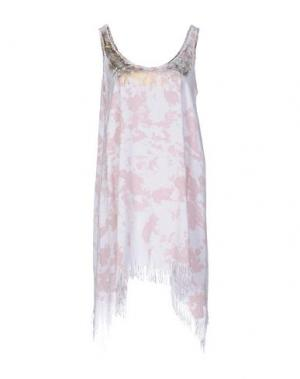 Короткое платье MONICA •LENDINEZ. Цвет: пастельно-розовый