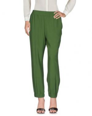 Повседневные брюки I'M ISOLA MARRAS. Цвет: зеленый