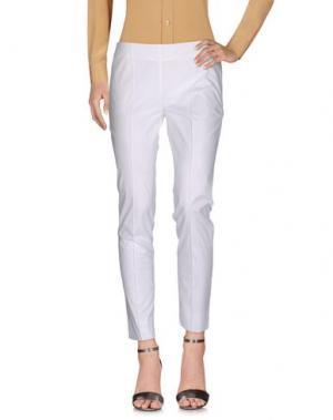Повседневные брюки BEATRICE. B. Цвет: белый