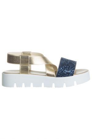 Sandals NILA. Цвет: gold, navy