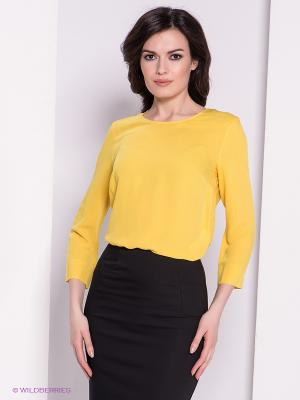 Блузка adL. Цвет: желтый