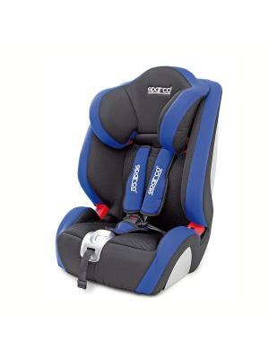 Детское кресло-бустер Sparco SPC/DK-350 BK/BL. Цвет: темно-синий