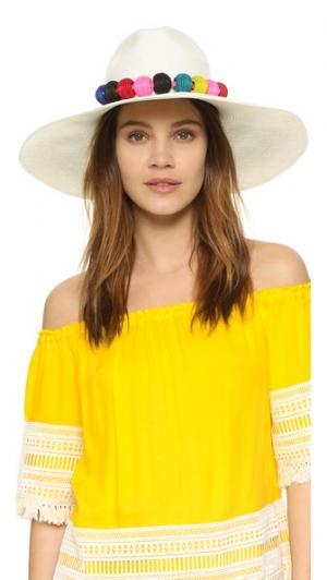 Текстильная шляпа с бусинами из сизаля Indego Africa