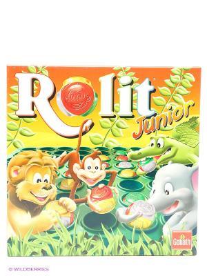 Настольная игра Rolit Junior GOLIATH. Цвет: желтый, зеленый
