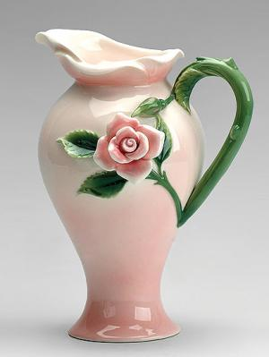 Кувшин Роза Pavone. Цвет: бледно-розовый