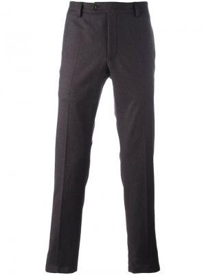 Классические брюки Al Duca D'Aosta 1902. Цвет: красный