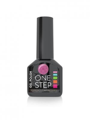 Однофазный гель-лак One Step №10, 6 мл GIORGIO CAPACHINI. Цвет: лиловый