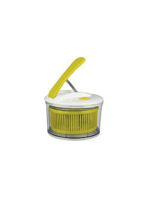 Сушилка д/овощей механическая Green Top. Цвет: белый, зеленый